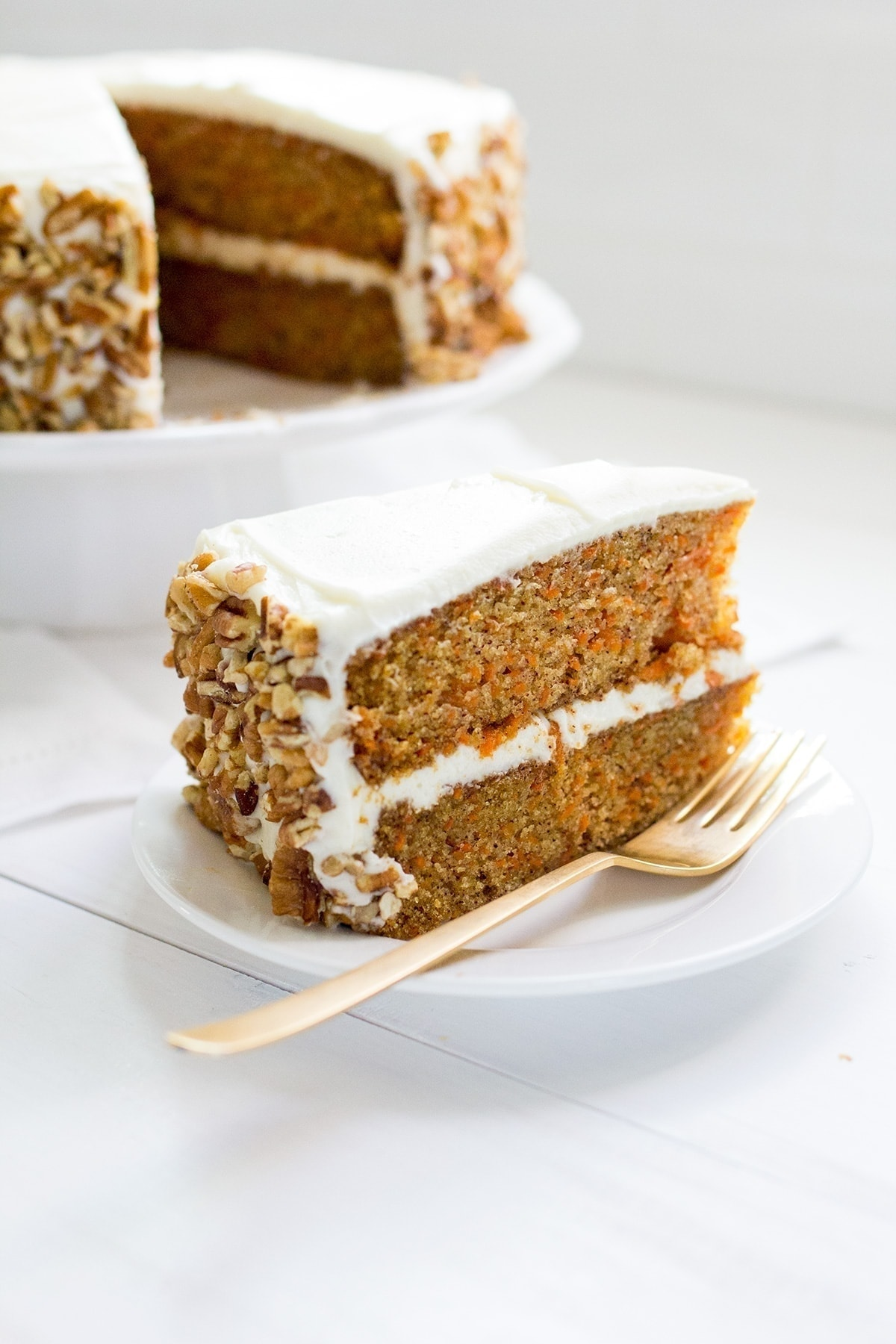 The Very Best Carrot Cake with Cream Cheese Frosting