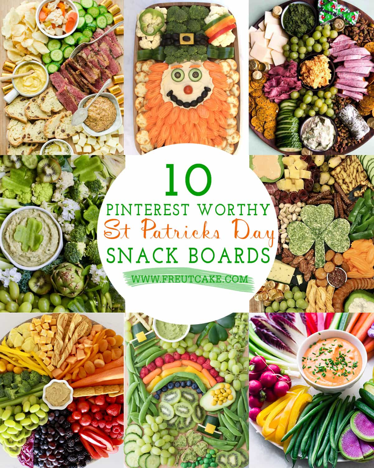 10 of the Best St Patricks Day Snack Boards