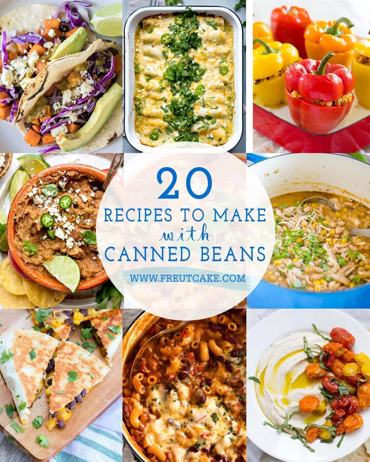 20 Recipes to Make with Canned Beans