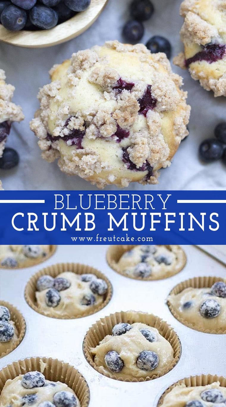 Blueberry Crumb Muffin Recipe