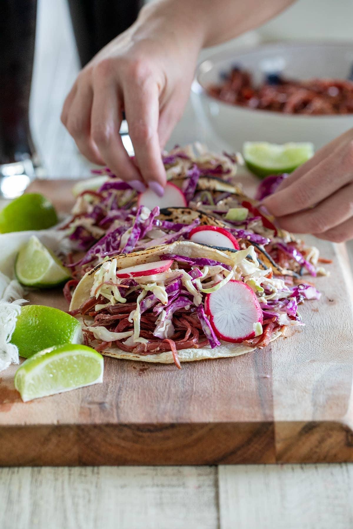 Corned Beef Tacos Recipe
