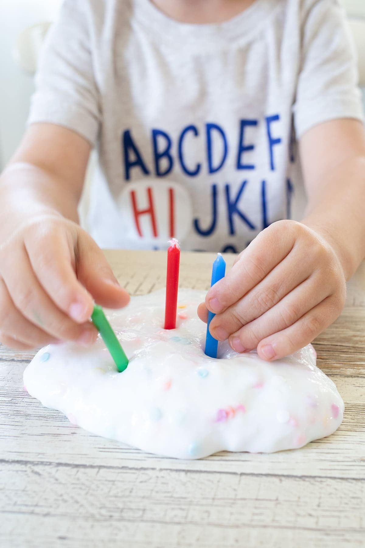 Funfetti Birthday Cake Slime Recipe