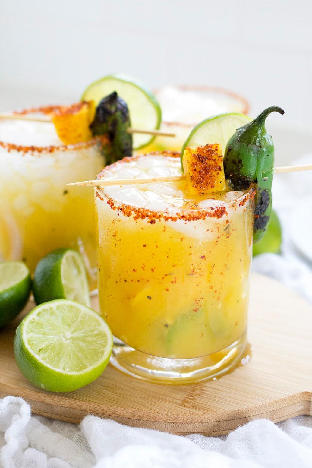 Spicy Mango Jalapeno Margarita