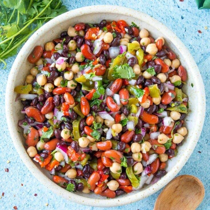 Zesty Three Bean Salad