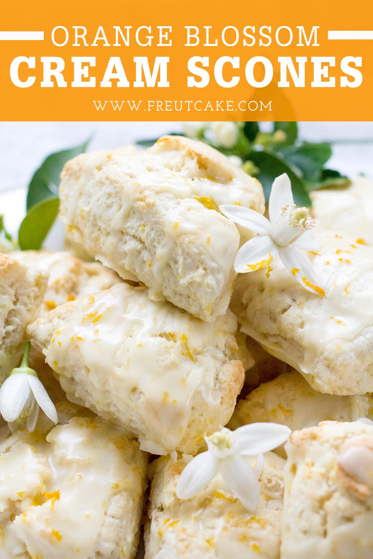 Orange Cream Scones Recipe
