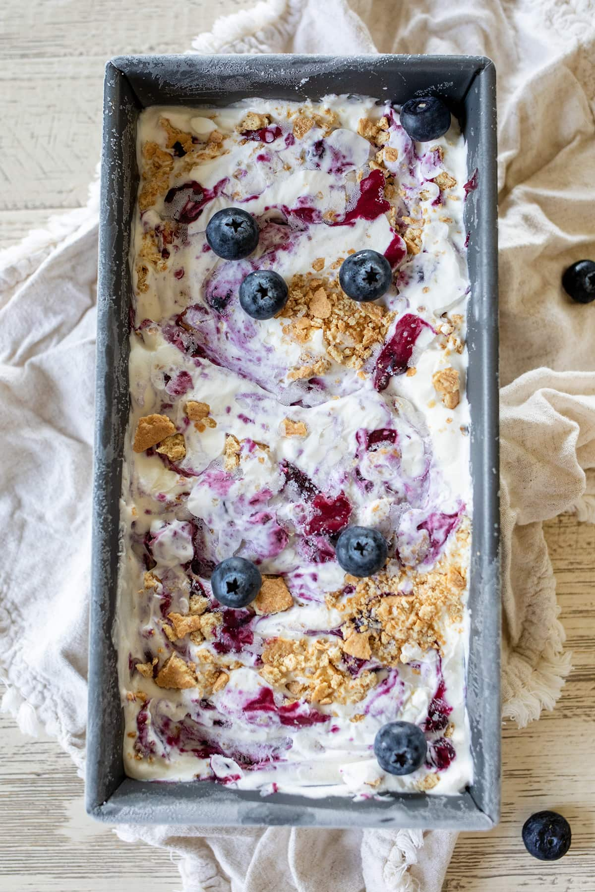 Blueberry Pie Ice Cream