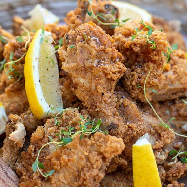 Easy Fried Chicken Dinner