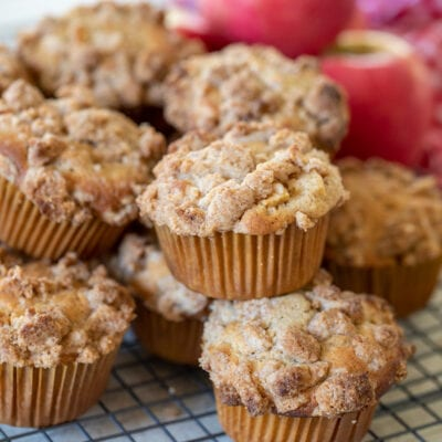 Apple Cinnamon Streusel Muffins