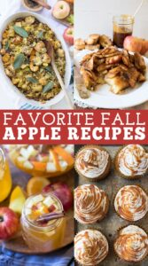 Favorite Fall Apple Recipes
