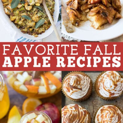 My Favorite Apple Recipes