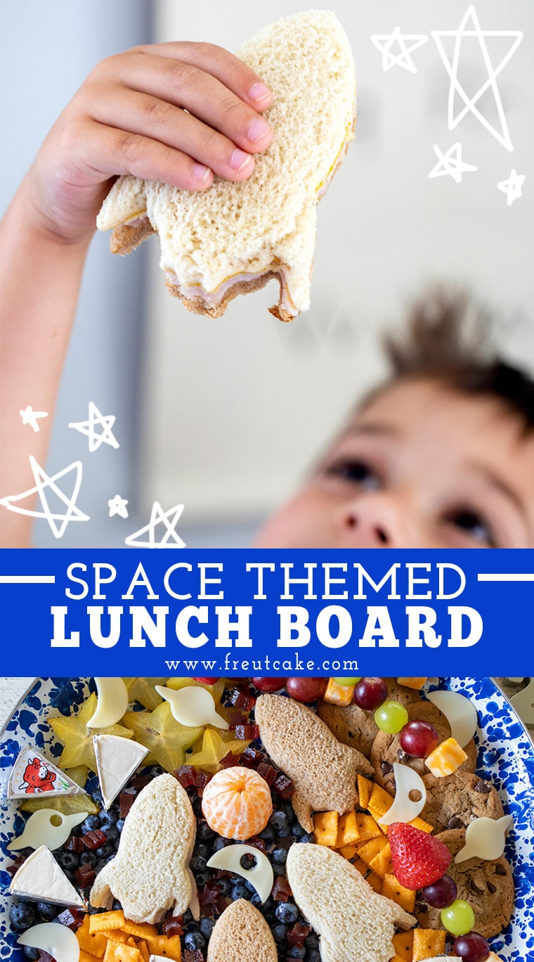 Space Themed Lunch Board for Kids