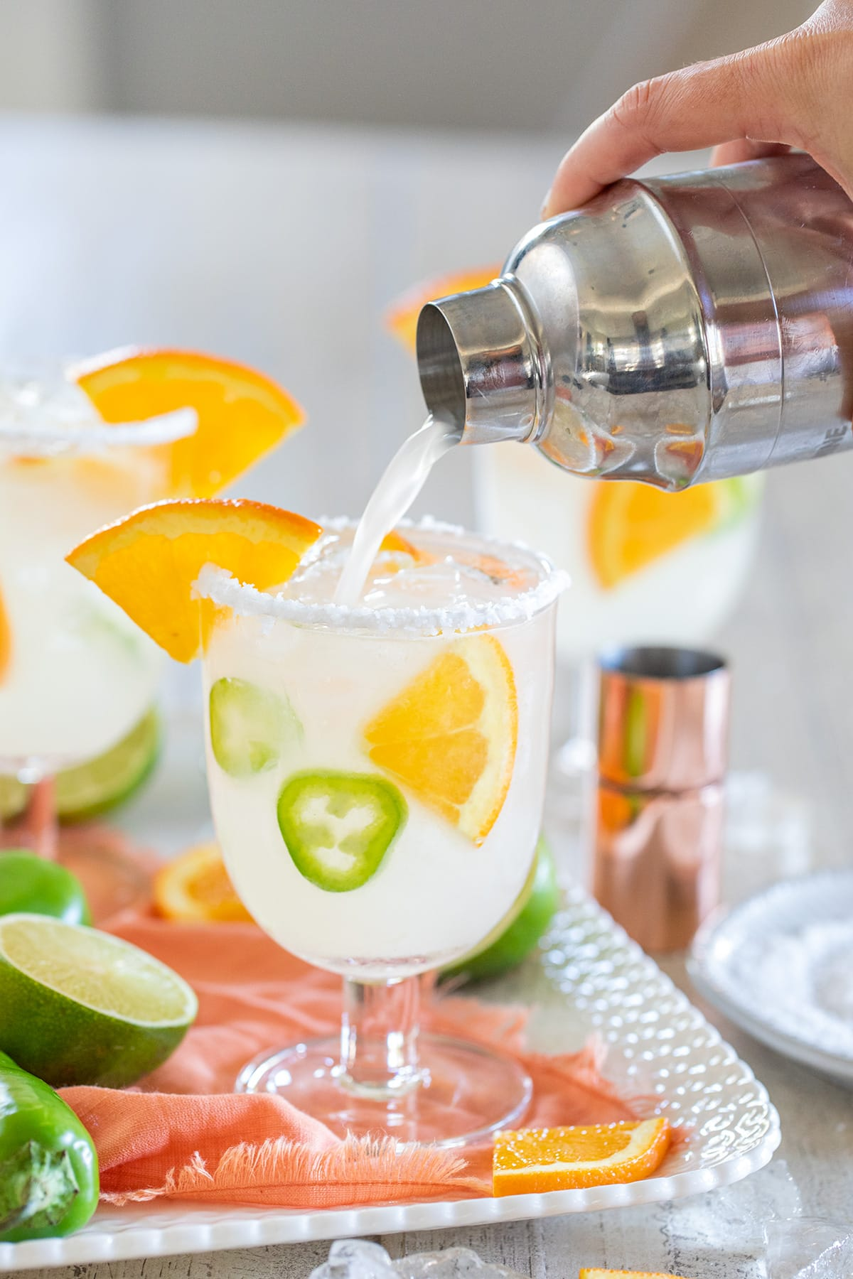 Spicy Orange Vitality Margarita