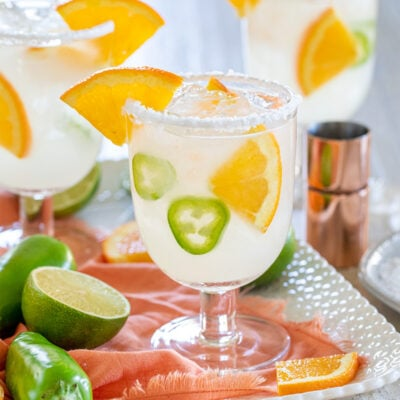 Spicy Orange Vitality Margaritas