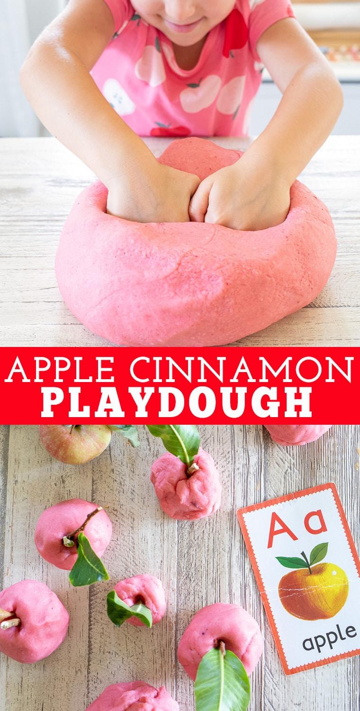 Apple Cinnamon Playdough