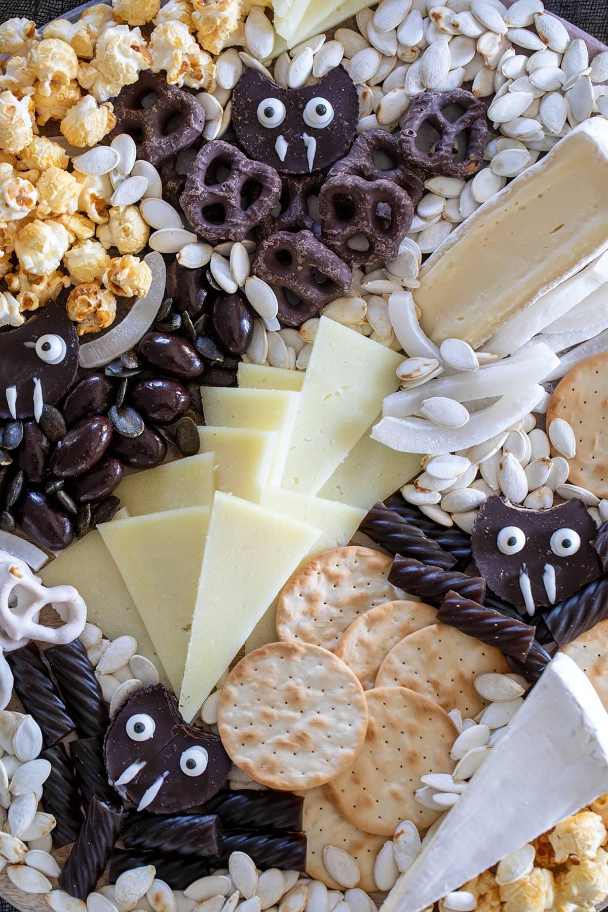 Halloween Bat Snack Board
