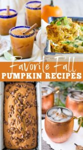 Favorite Fall Pumpkin Recipes