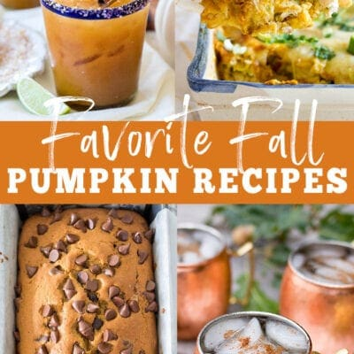 My Favorite Fall Pumpkin Recipes