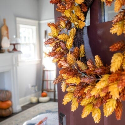 Simple Fall Living Room Decor