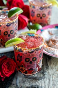 Chili Pomegranate Margarita