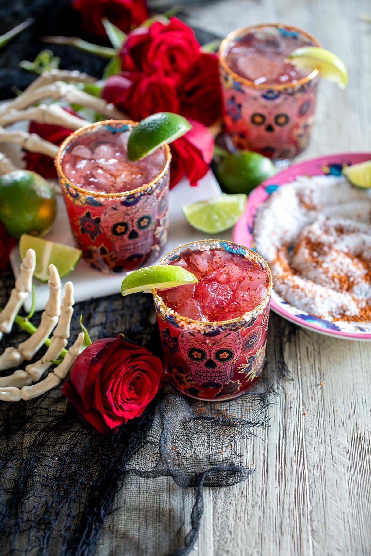Chili Pomegranate Margarita