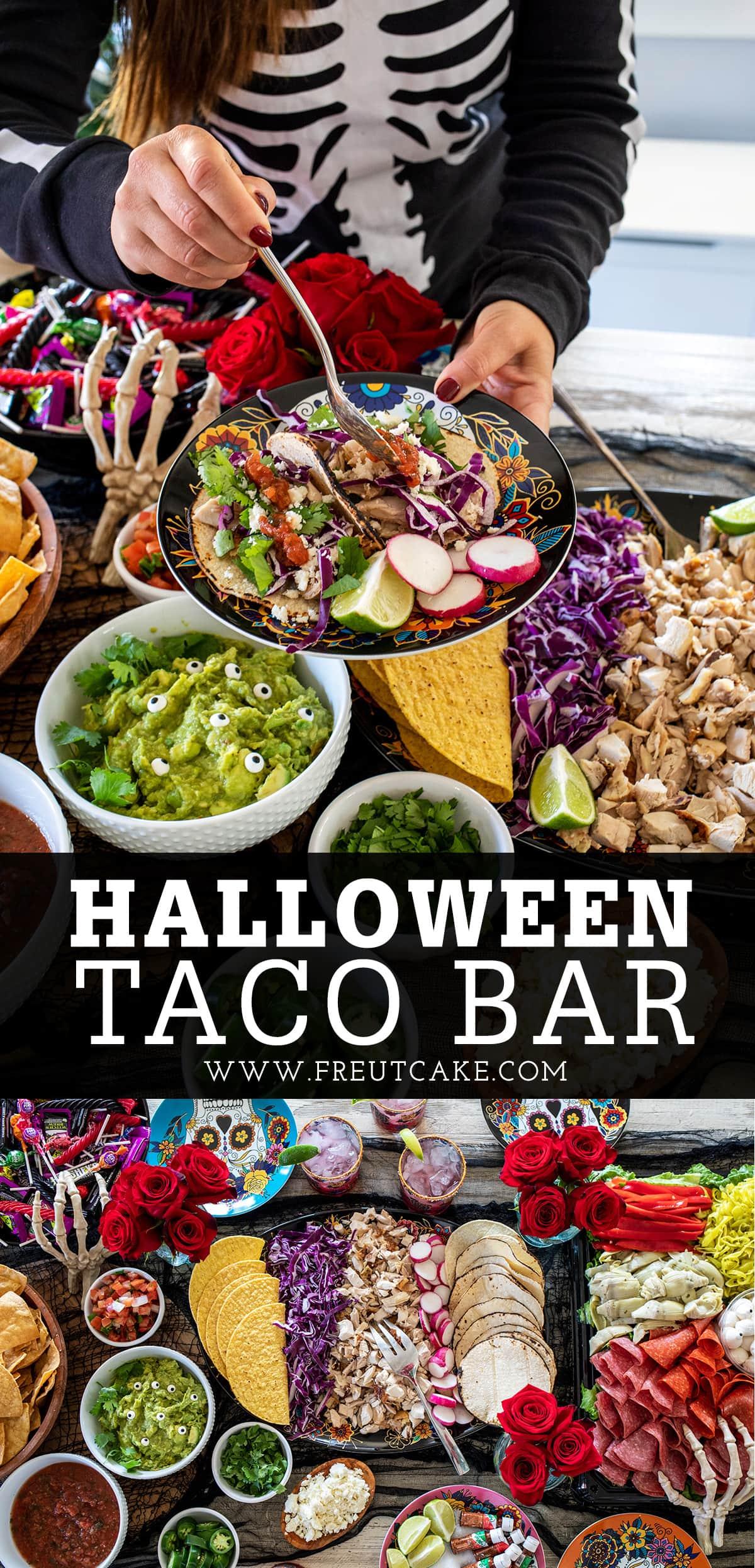 Halloween Taco Bar