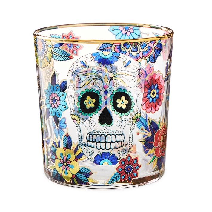 Day of the Dead Tumblers, Set of 4