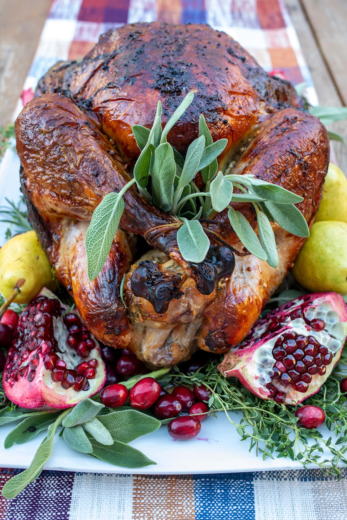 Perfect Brined Roast Turkey