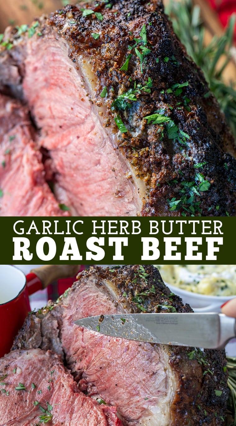 Butter Herb Beef Roast 8
