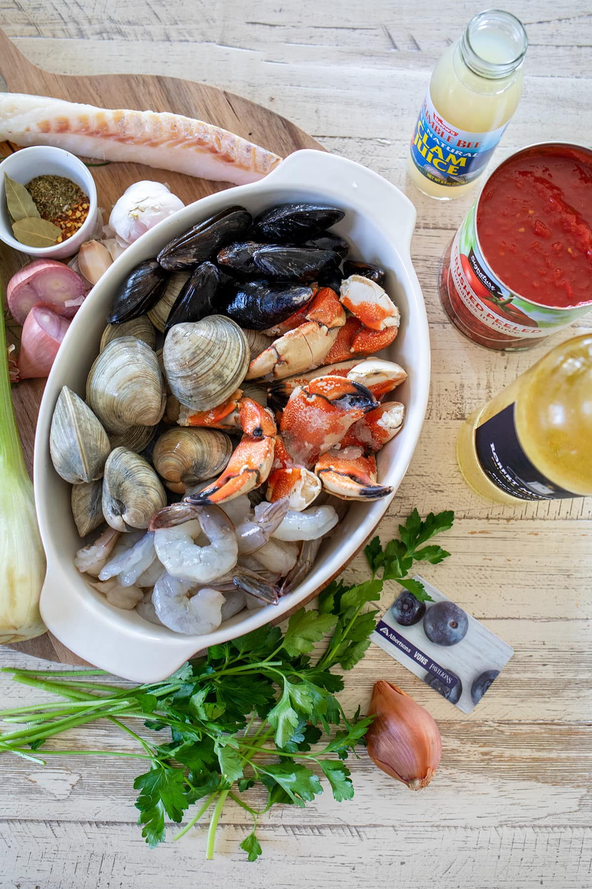 Italian Cioppino Seafood Stew Recipe