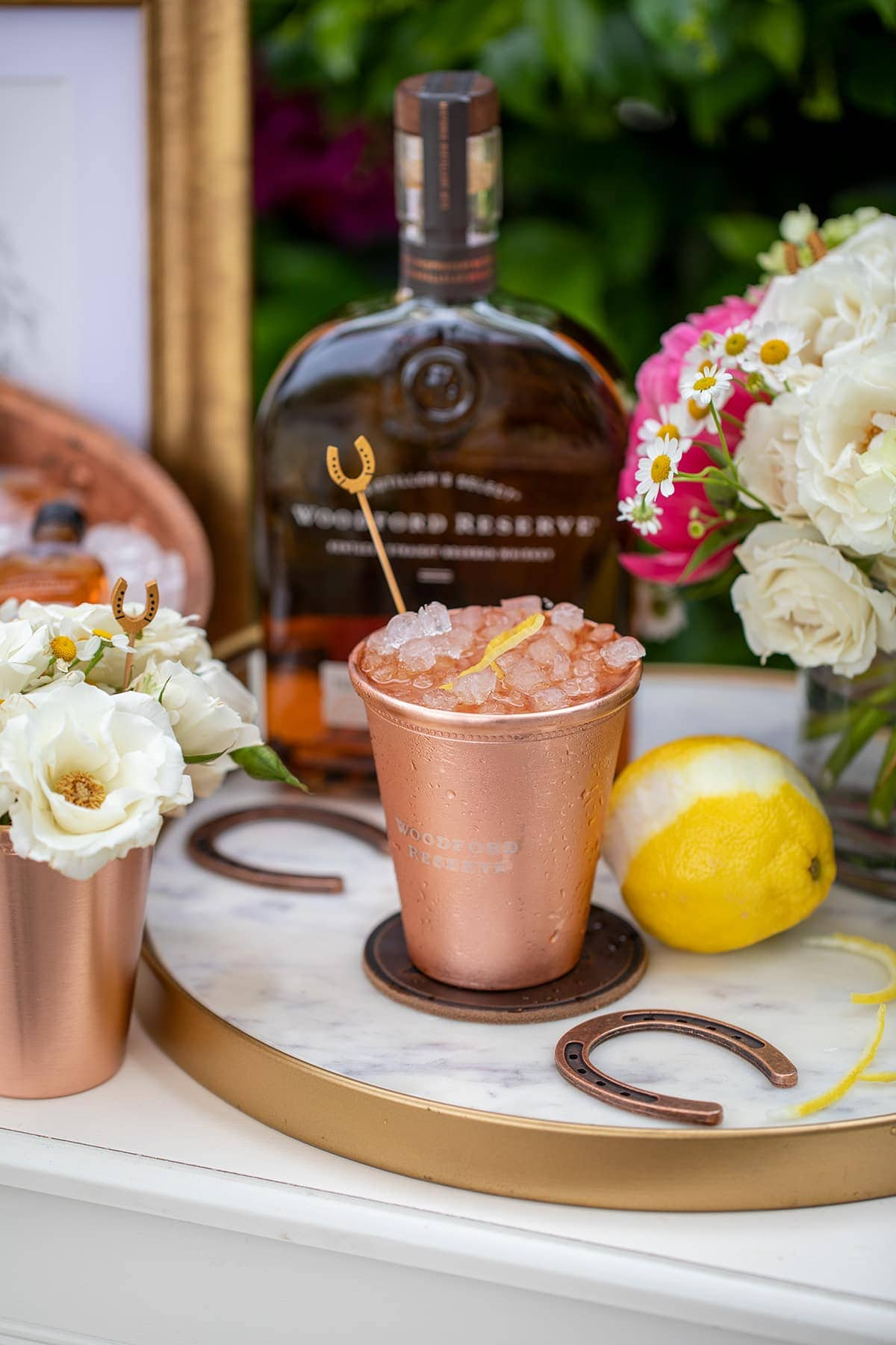 The Woodford Reserve Spire is a classic Derby Cocktail you can make at home to celebrate the Kentucky Derby.
