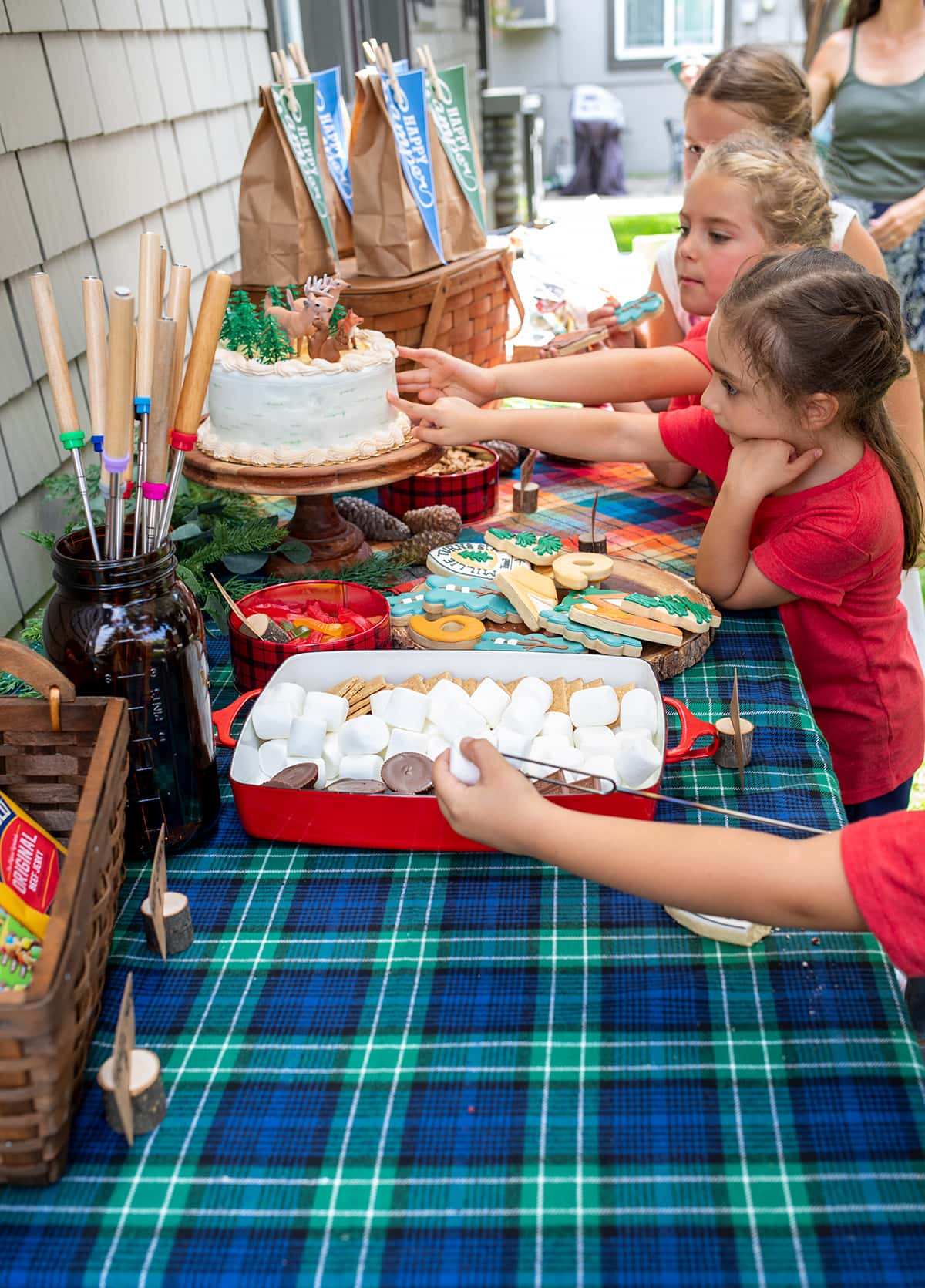 Camping Themed Birthday Party