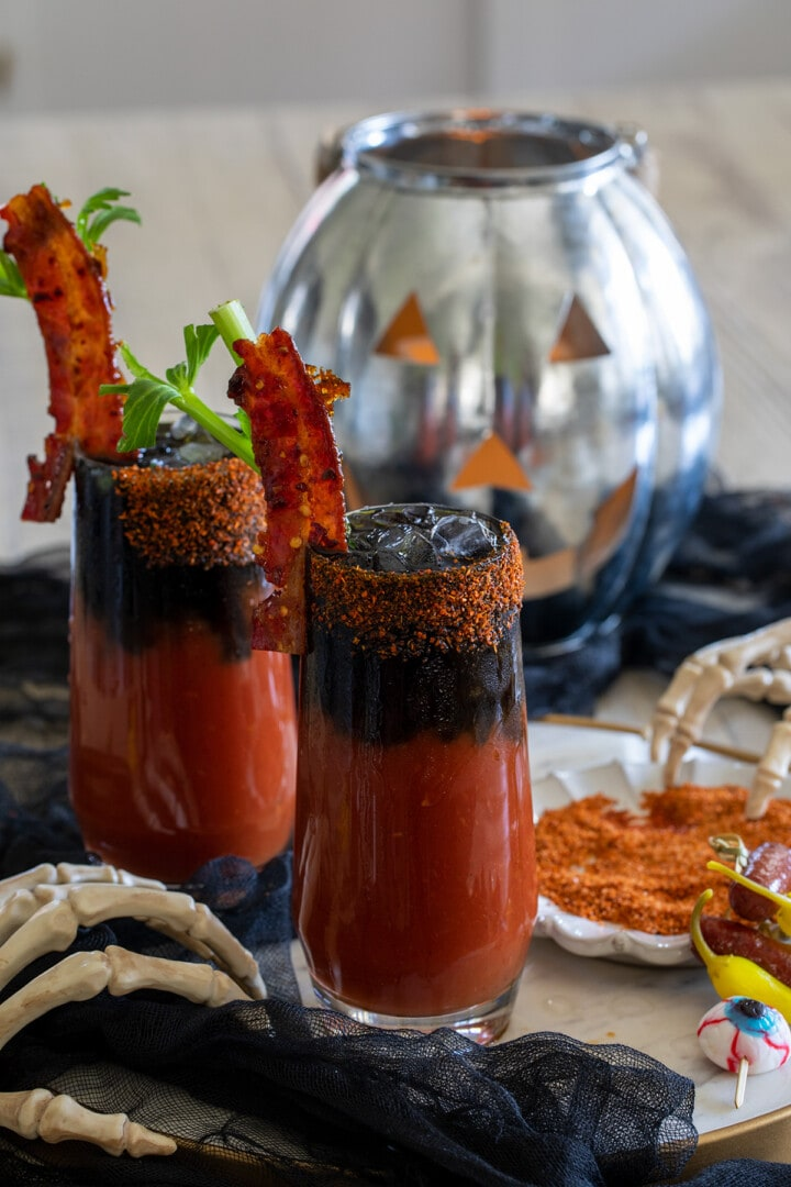 Spicy Halloween Bloody Mary